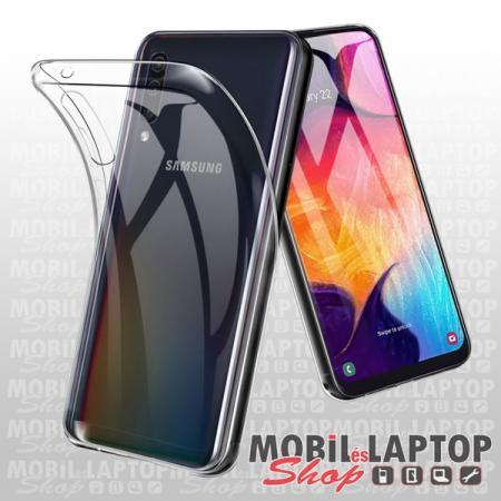 Szilikon tok Samsung A305 Galaxy A30 ultravékony átlátszó