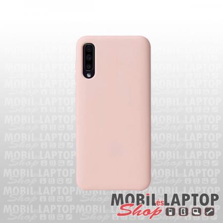 Szilikon tok Samsung A307/A505/A507 Galaxy A30s/A50/A50s Soft Touch rózsaszín