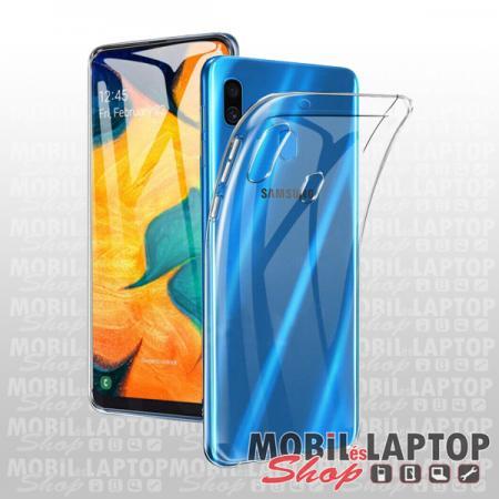 Szilikon tok Samsung A307/A505/A507 Galaxy A30s/A50/A50s ultravékony átlátszó