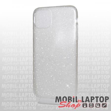 Szilikon tok Samsung A405 Galaxy A40 csillámos átlátszó