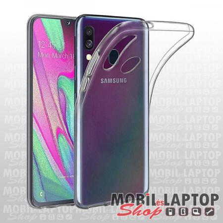 Szilikon tok Samsung A405 Galaxy A40 ultravékony átlátszó
