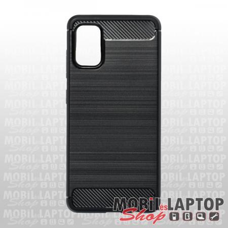 Szilikon tok Samsung A415 Galaxy A41 fekete karbon minta