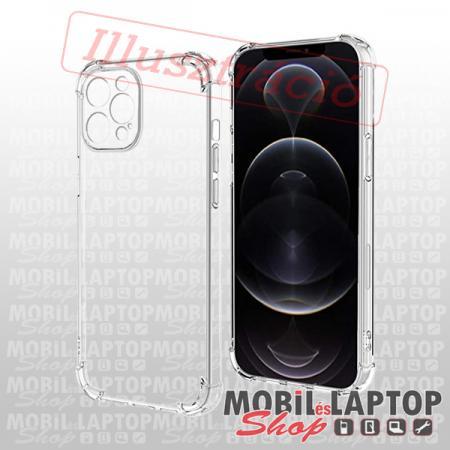 Szilikon tok Samsung A425 Galaxy A42 közepesen ütésálló kameravédős átlátszó