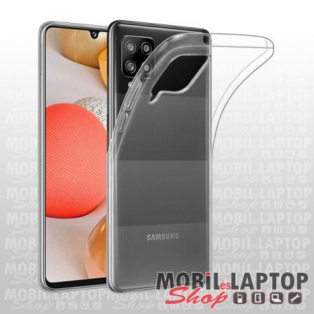 Szilikon tok Samsung A425 Galaxy A42 ultravékony átlátszó