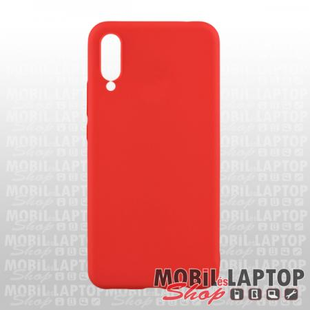 Szilikon tok Samsung A505 Galaxy A50 ultravékony matt piros