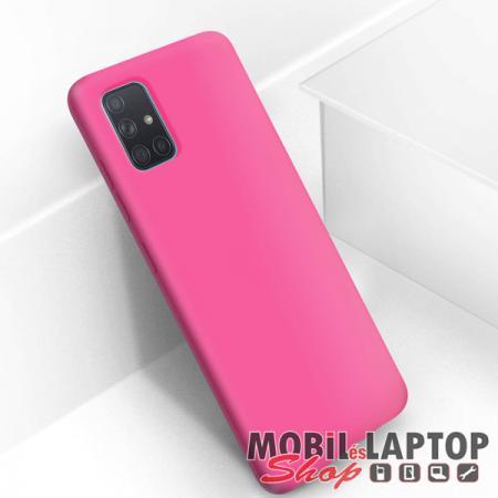 Szilikon tok Samsung A515 Galaxy A51 Soft Touch rózsaszín