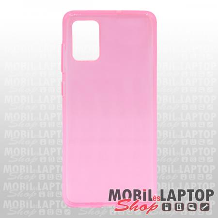 Szilikon tok Samsung A715 Galaxy A71 rózsaszín