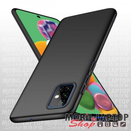Szilikon tok Samsung A715 Galaxy A71 ultravékony matt fekete