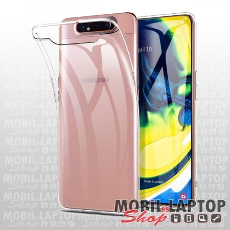 Szilikon tok Samsung A805 Galaxy A80 ultravékony átlátszó