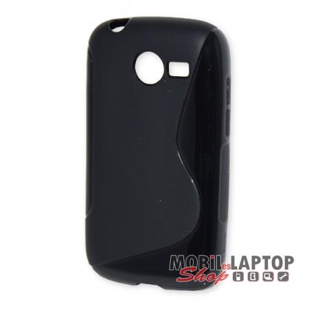 Szilikon tok Samsung G110 Galaxy Pocket 2 fekete