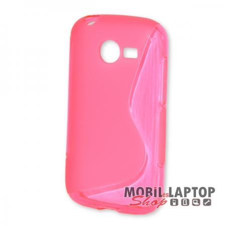Szilikon tok Samsung G110 Galaxy Pocket 2 rózsaszín