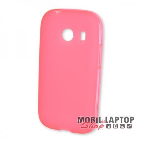 Szilikon tok Samsung G310 Galaxy Ace Style rózsaszín