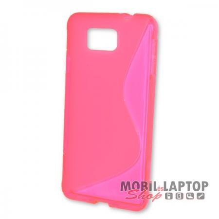 Szilikon tok Samsung G850 Galaxy Alpha rózsaszín
