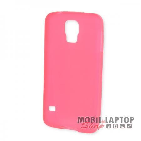 Szilikon tok Samsung G900 / I9600 Galaxy S5 rózsaszín