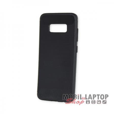 Szilikon tok Samsung G950 Galaxy S8 fekete karbon minta