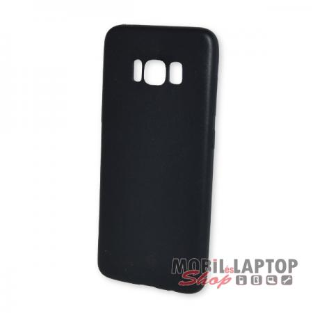 Szilikon tok Samsung G950 Galaxy S8 ultravékony matt fekete