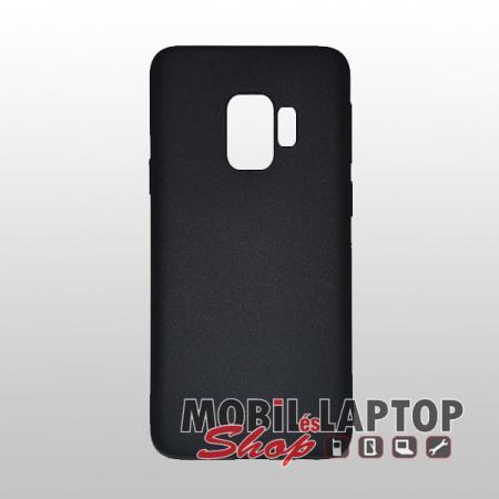 "Szilikon tok Samsung G960 Galaxy S9 ( 5,8"" ) ultravékony matt fekete"