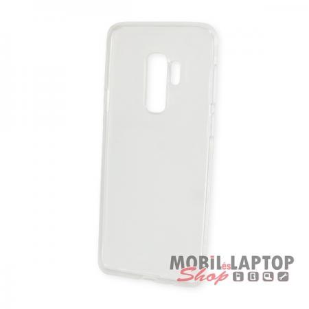 """Szilikon tok Samsung G965 Galaxy S9 Plus ( 6,2"""" ) ultravékony átlátszó"""