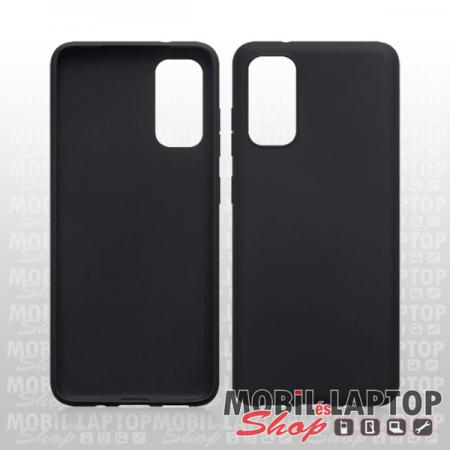 "Szilikon tok Samsung G980 Galaxy S20 ( 6,2"" ) ultravékony matt fekete"