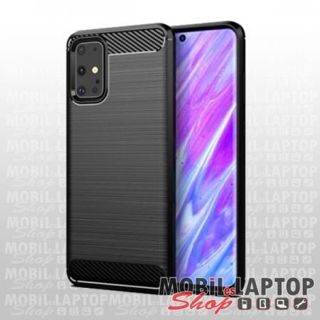 "Szilikon tok Samsung G988 Galaxy S20 Ultra ( 6,9"" ) fekete karbon minta"
