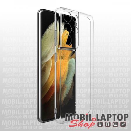 """Szilikon tok Samsung G991 Galaxy S21 ( 6,2"""" ) ultravékony átlátszó"""