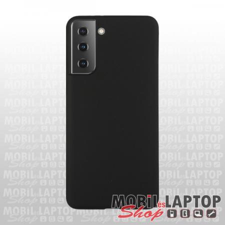 "Szilikon tok Samsung G996 Galaxy S21 Plus ( 6,7"" ) ultravékony matt fekete"