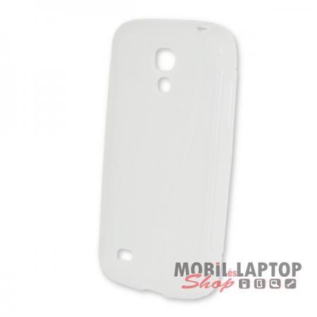 Szilikon tok Samsung I9190 / I9192 / I9195 Galaxy S4 Mini ultravékony átlátszó