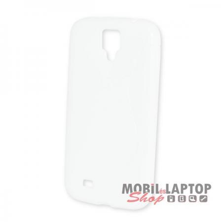 Szilikon tok Samsung I9500 / I9505 Galaxy S4 fehér