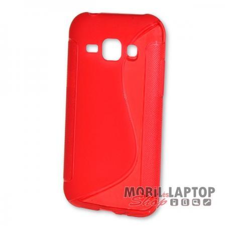 Szilikon tok Samsung J100 Galaxy J1 piros