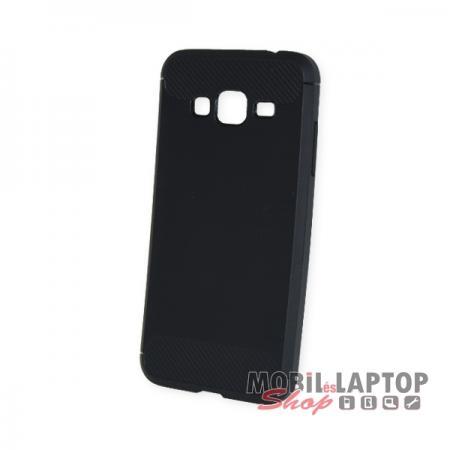 Szilikon tok Samsung J320 Galaxy J3 (2016) fekete karbon minta