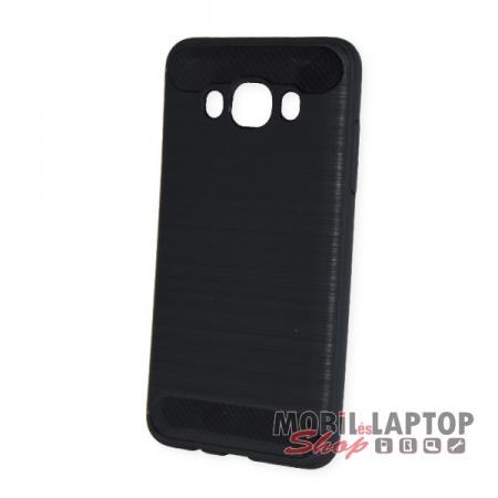 Szilikon tok Samsung J510 Galaxy J5 (2016) fekete karbon minta