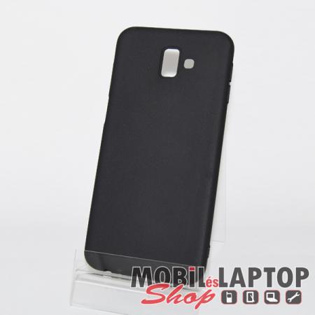 Szilikon tok Samsung J610 Galaxy J6 Plus (2018) ultravékony matt fekete