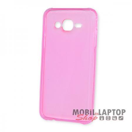 Szilikon tok Samsung J700 Galaxy J7 rózsaszín