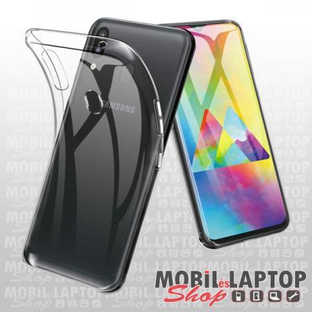 Szilikon tok Samsung M205 Galaxy M20 ultravékony átlátszó