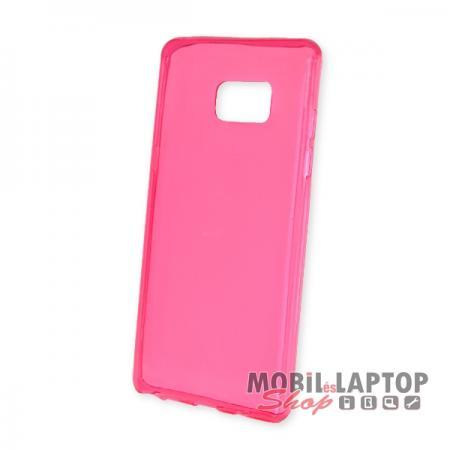Szilikon tok Samsung N930 Galaxy Note 7 ultravékony rózsaszín