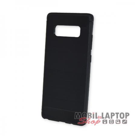 Szilikon tok Samsung N950 Galaxy Note 8 fekete karbon minta