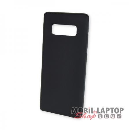 Szilikon tok Samsung N950 Galaxy Note 8 ultravékony matt fekete