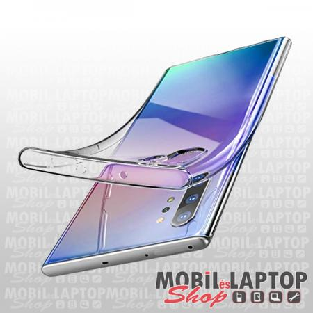 Szilikon tok Samsung N975 Galaxy Note 10 Plus ultravékony átlátszó