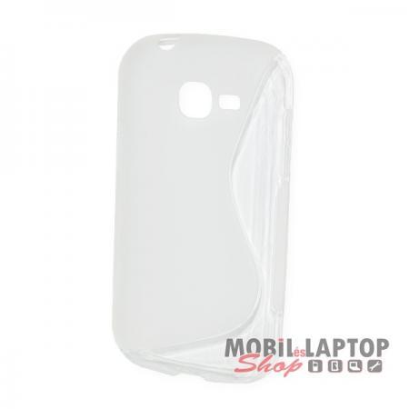 Szilikon tok Samsung S7390 / S7392 Galaxy Trend Lite átlátszó