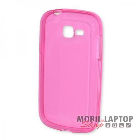 Szilikon tok Samsung S7390 / S7392 Galaxy Trend Lite rózsaszín