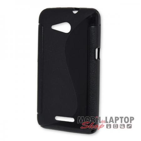 Szilikon tok Sony E2003 / E2006 / E2053 Xperia E4G fekete