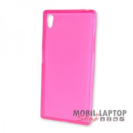 Szilikon tok Sony E6653 Xperia Z5 rózsaszín