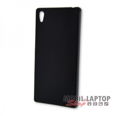 Szilikon tok Sony E6853 Xperia Z5 Premium fekete
