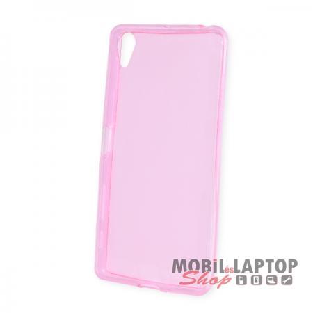 Szilikon tok Sony F5122 Xperia X ultravékony rózsaszín