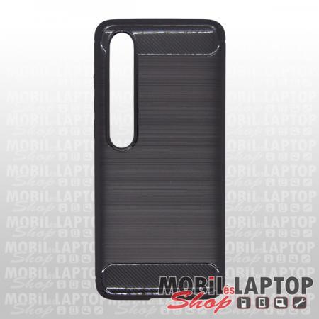 Szilikon tok Xiaomi Mi 10 fekete karbon minta