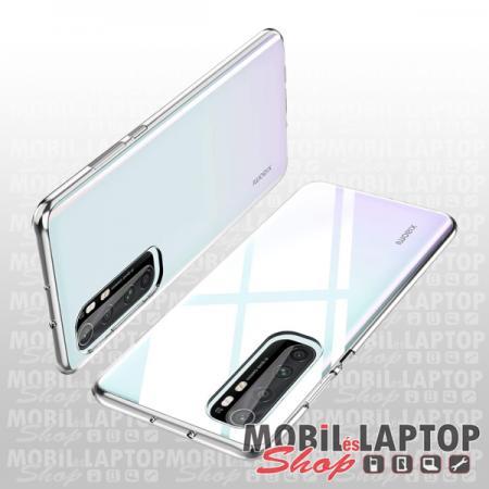 Szilikon tok Xiaomi Mi Note 10 Lite ultravékony átlátszó