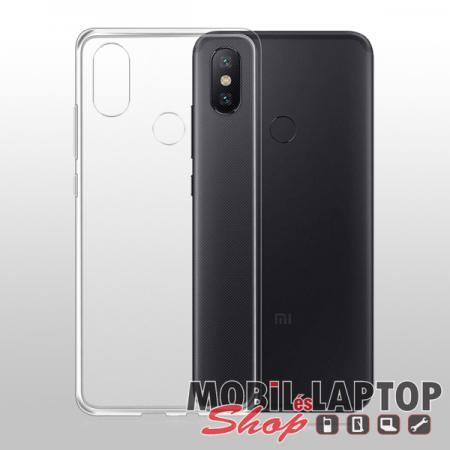 Szilikon tok Xiaomi Redmi 6 Pro/Mi A2 Lite ultravékony matt fekete