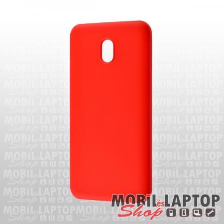 Szilikon tok Xiaomi Redmi 8A ultravékony matt piros