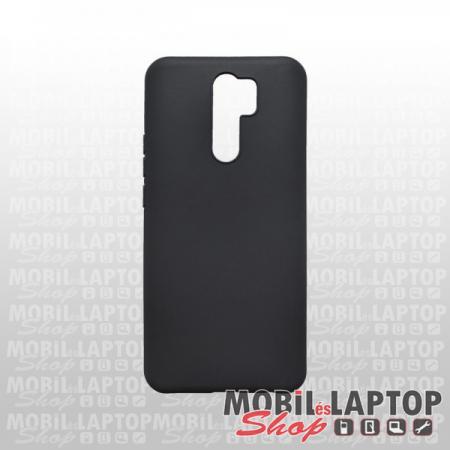 Szilikon tok Xiaomi Redmi 9 ultravékony matt fekete