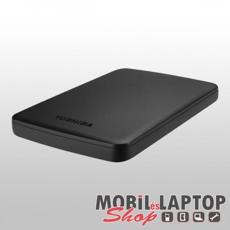"""TOSHIBA Canvio Basic 2,5"""" 1TB külső USB3.0 fekete winchester (HDTB410EK3AA)"""